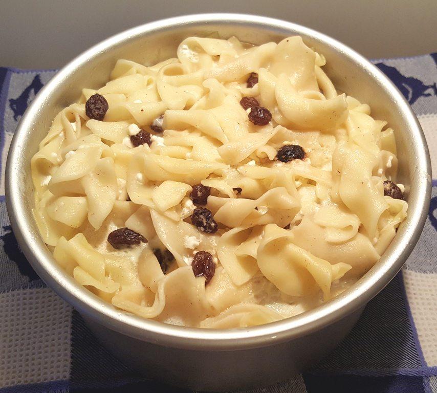 Pressure Cooker Jewish Noodle Kugel