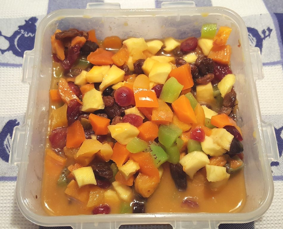 Soaked Mixed Fruit