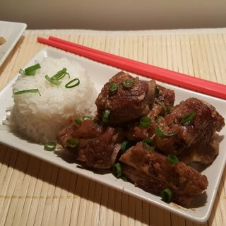 Pressure Cooker Vietnamese Caramelized Pork Spare Ribs