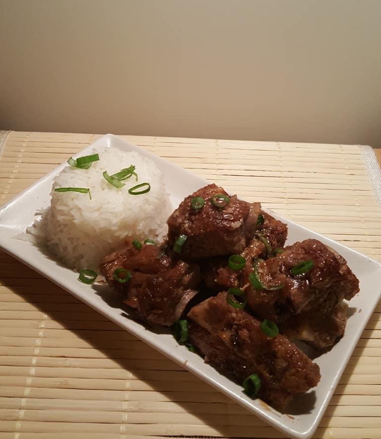 Pressure Cooker Vietnamese Caramelized Pork Spare Ribs (Sườn Ram Mặn)