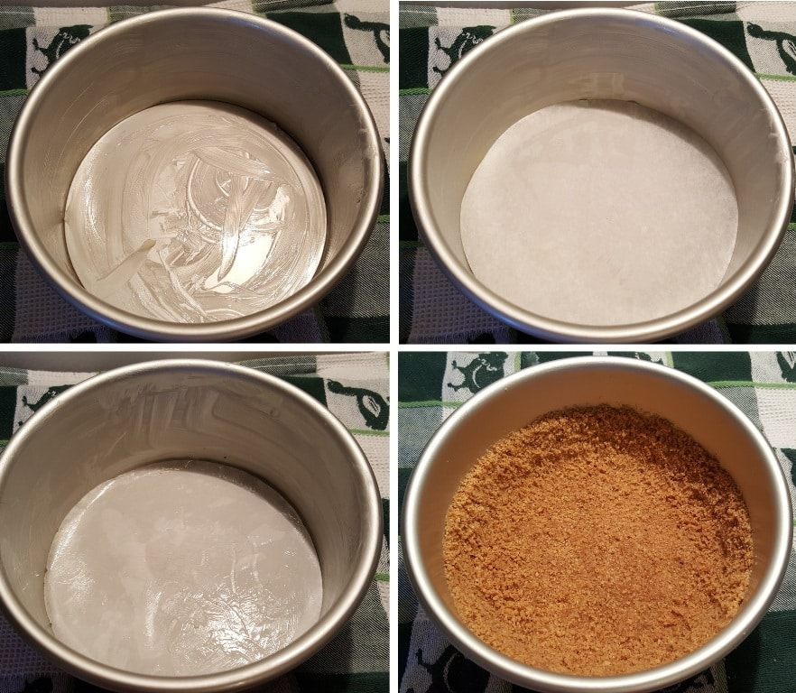 Prepare the Cheesecake Pan