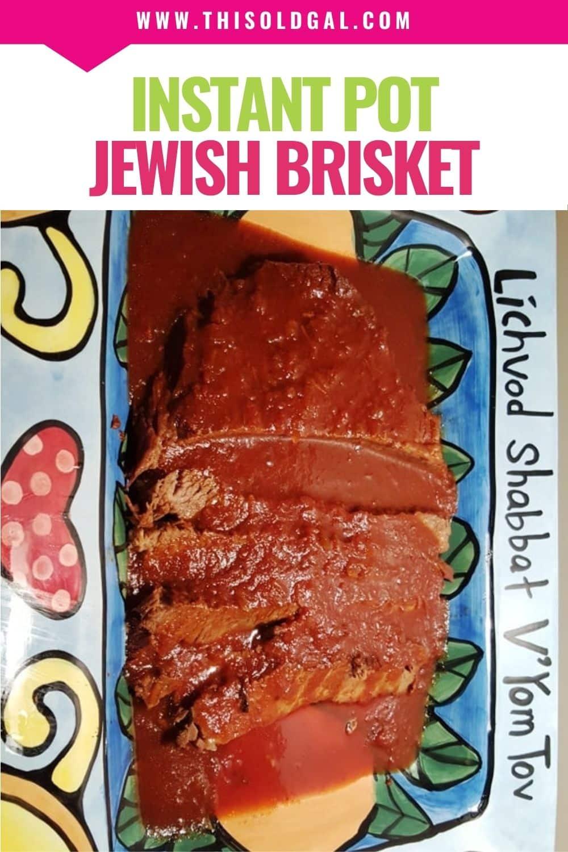 Pressure Cooker Jewish Brisket [Instant Pot]