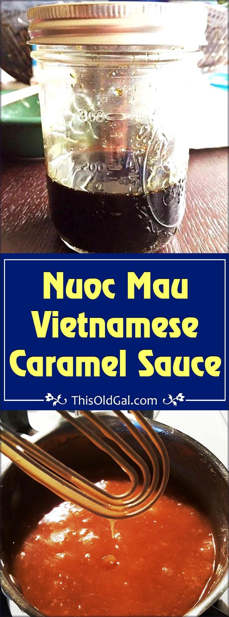 Nuoc Mau Vietnamese Caramel Sauce