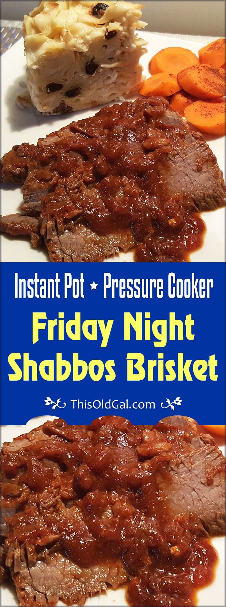 Pressure Cooker Friday Night Shabbos Brisket