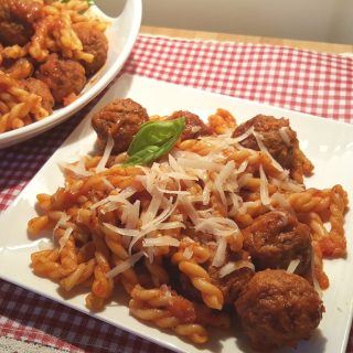 Pressure Cooker Soccer Mom Spaghetti and Meatballs