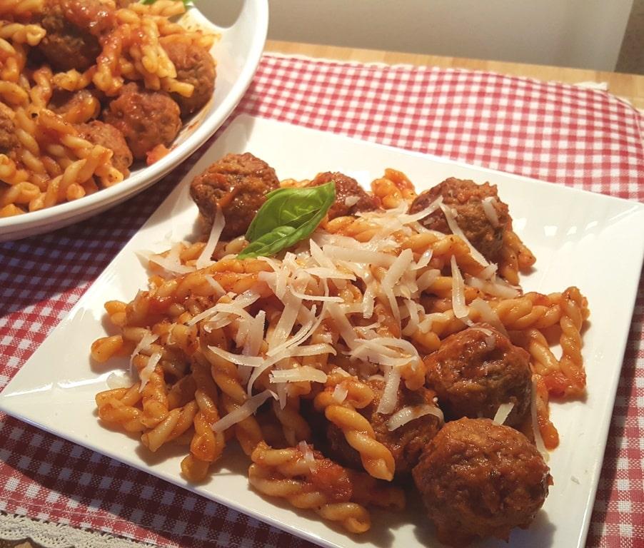 Pressure Cooker Soccer Mom Spaghetti and Meatballs