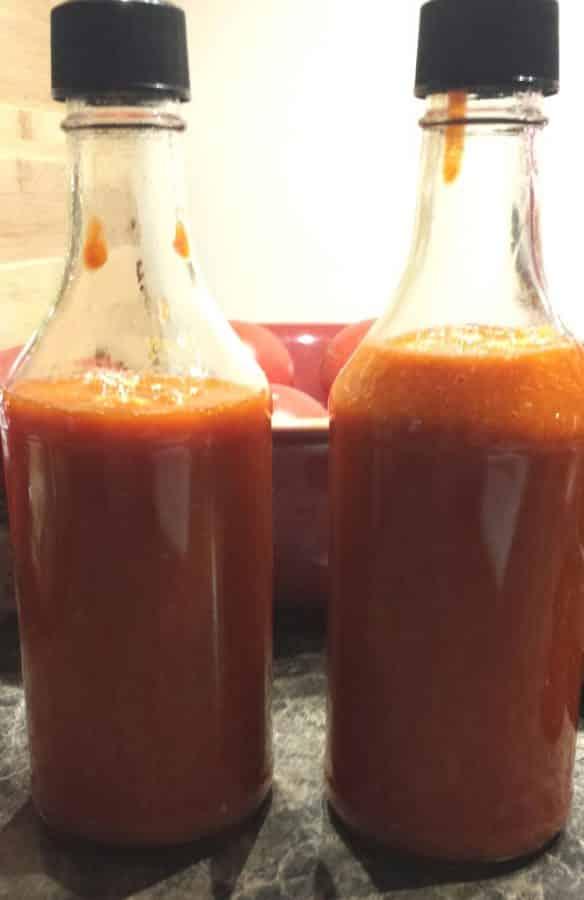 Pressure Cooker Rockin' Hot Sauce