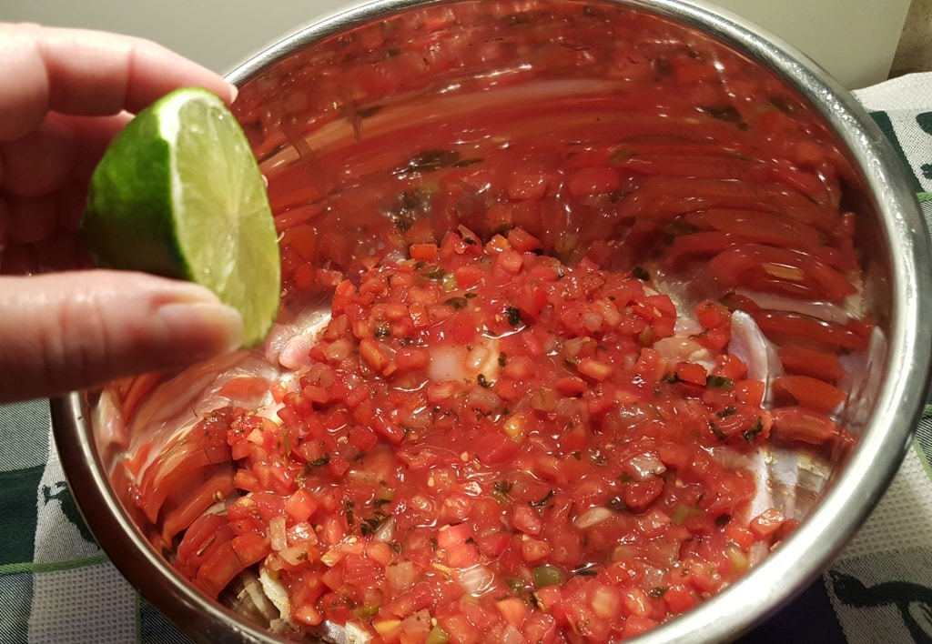Squeeze a Lime Over the Salsa