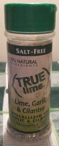 True Lime, Garlic & Cilantro
