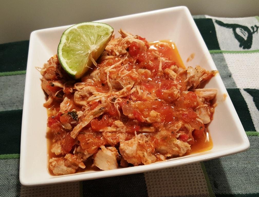 Pressure Cooker Salsa Lime Chicken