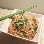 Pressure Cooker Simple Sesame Noodles