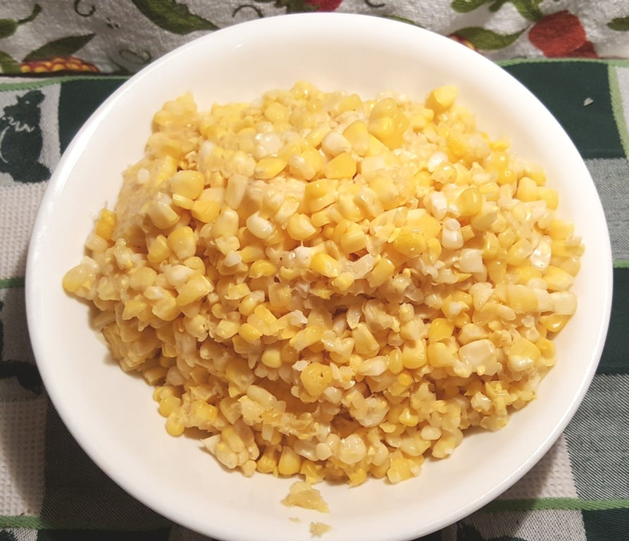 Corn Kernels, Cut from the Cob