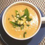 Vegan Pressure Cooker Vegetarian Corn Chowder Soup
