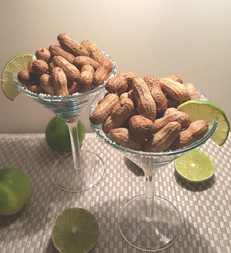 Pressure Cooker Margarita Cocktail Boiled Peanuts