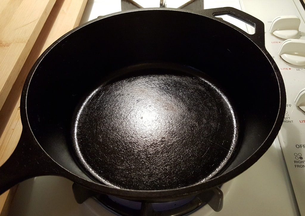 Start with a very Hot Wok or Cast Iron Skillet