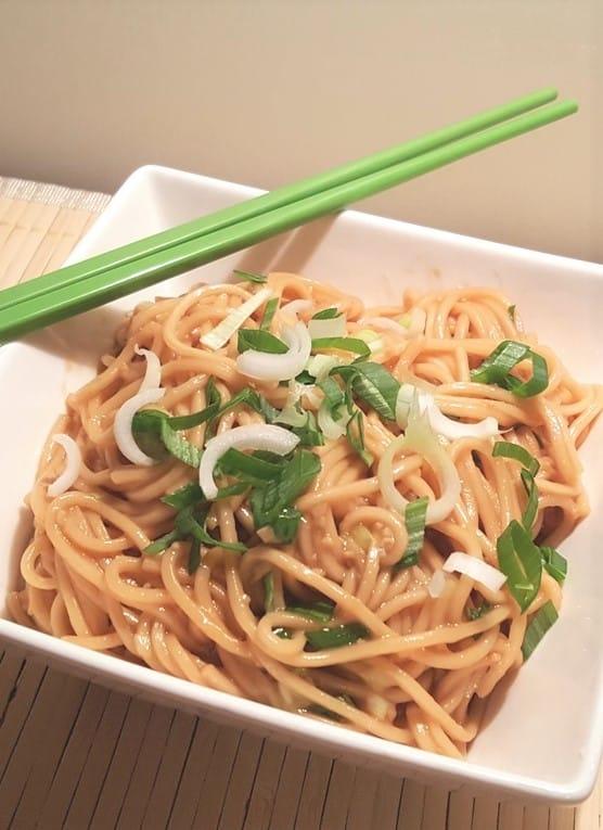 Instant Pot Sesame Noodles