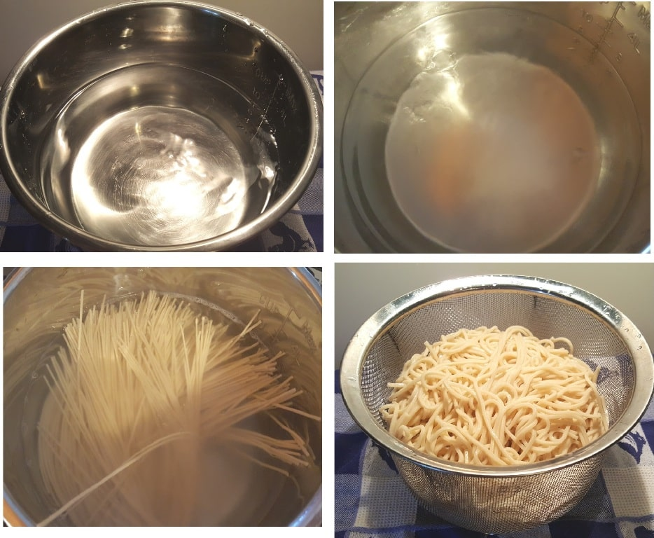 Cooking Noodles The Regular Way with Boiling Water