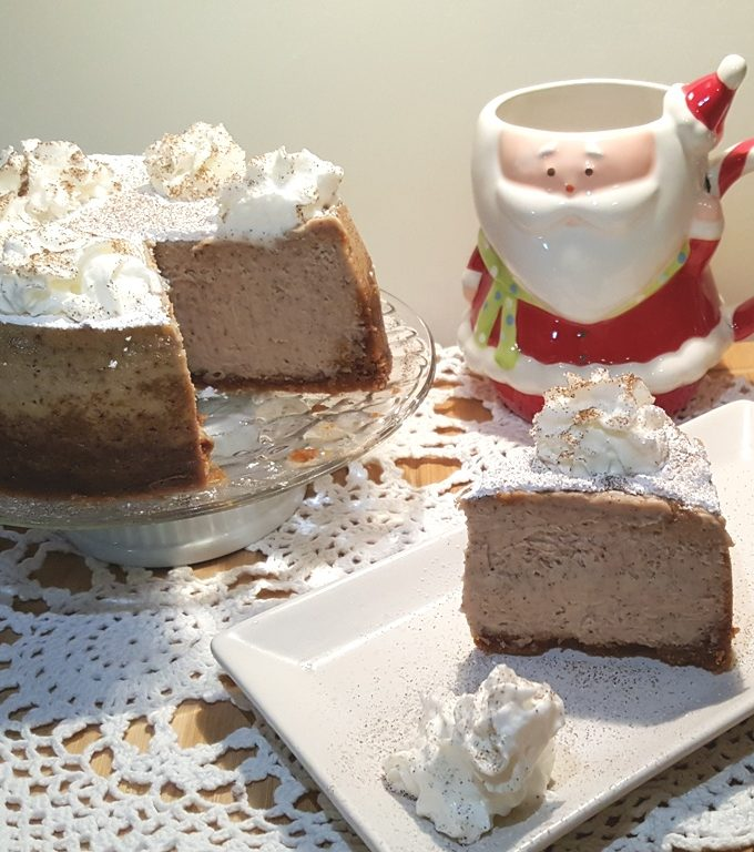 Pressure Cooker Holiday Spice Peppernuts Cheesecake and Coffee