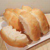 Fluffy Japanese Hokkaido Milk Hotdog Buns