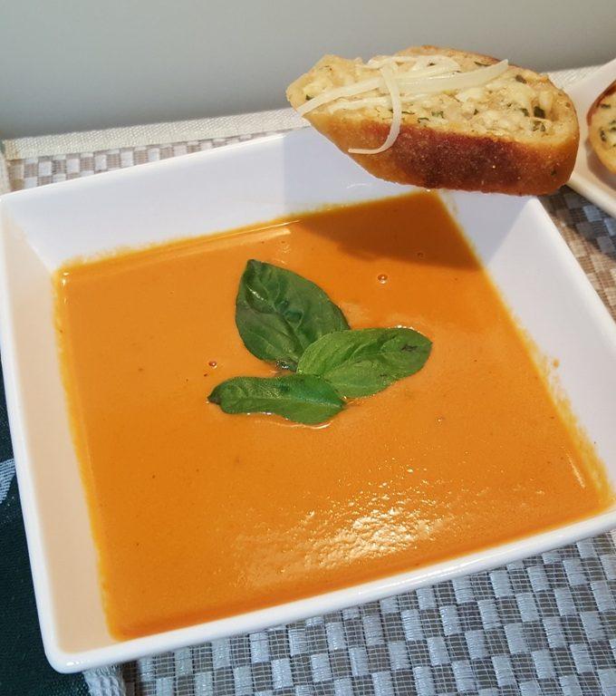 Pressure Cooker Nordstrom Tomato Basil Soup