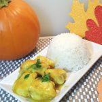 Pressure Cooker Pumpkin Curry Chicken