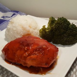 Pressure Cooker Russian Chicken with Rice and Broccoli