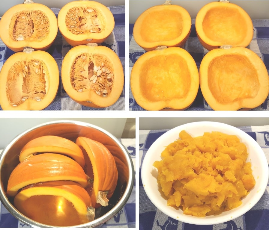 Multiple Pressure Cooker Sugar Pie Pumpkin Puree