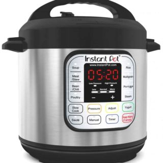 Instant Pot IP-DUO60 Electric Pressure Cooker Giveaway