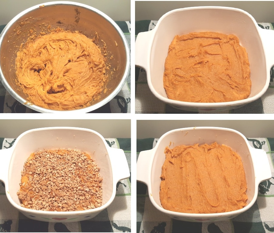 Layer the Sweet Potatoes and the Filling