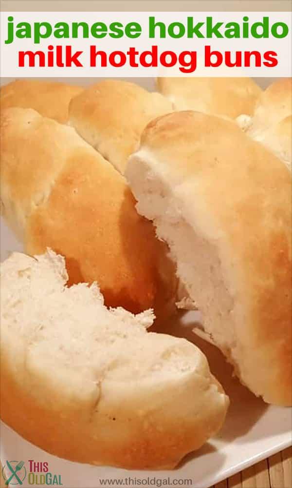 Japanese Hokkaido Milk Hotdog Buns