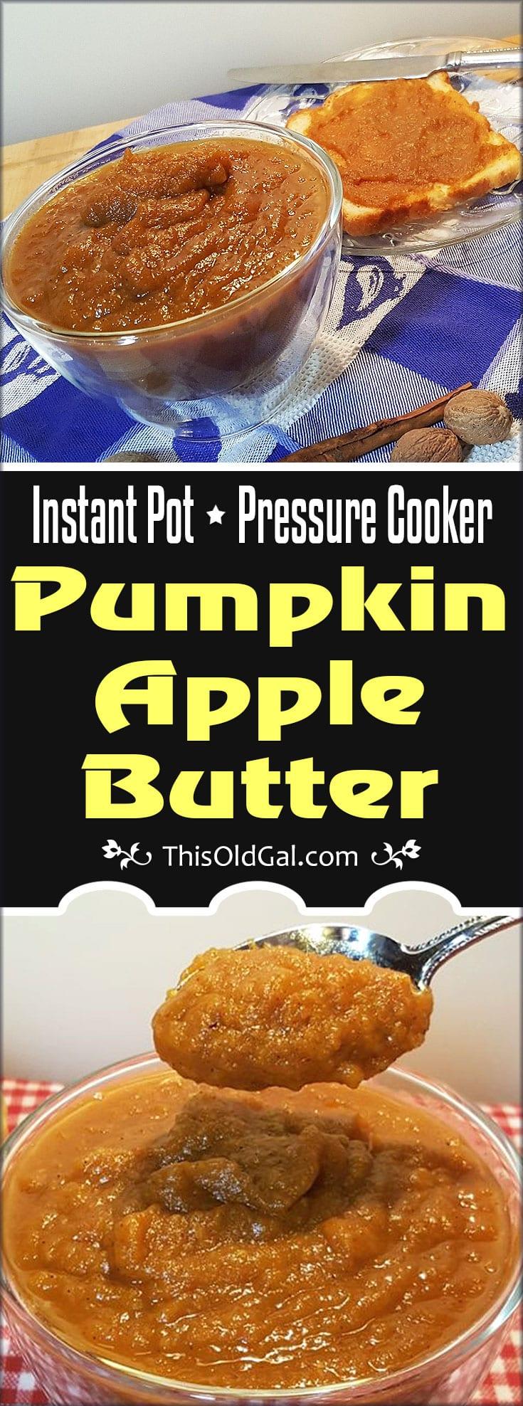 Pressure Cooker Pumpkin Apple Butter