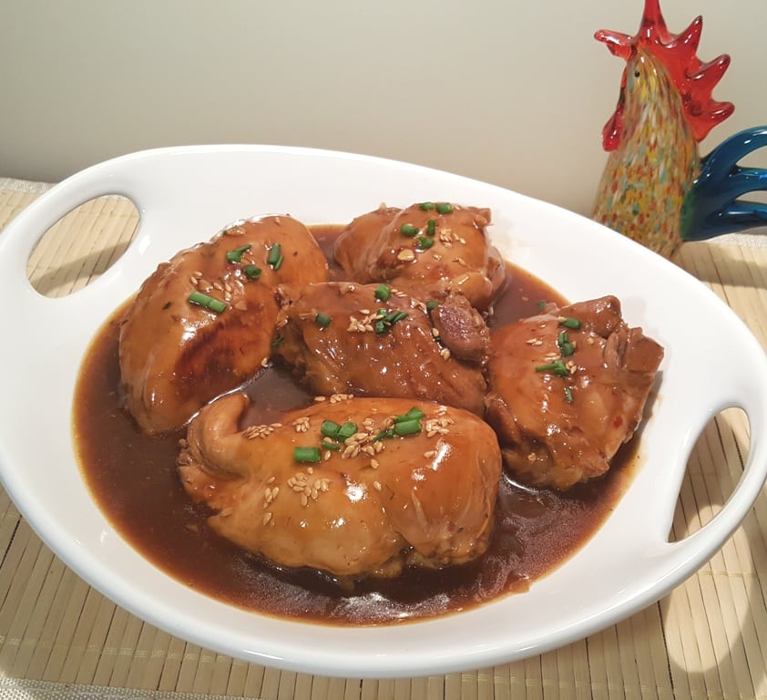 Pressure Cooker Simmered Chinese Chicken