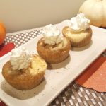Decorate with Whipped Cream and Cinnamon and/or Nutmeg