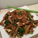 Thai Pad See Ew Stir Fried Noodles