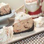 Pressure Cooker Peppermint Milkshake Cheesecake