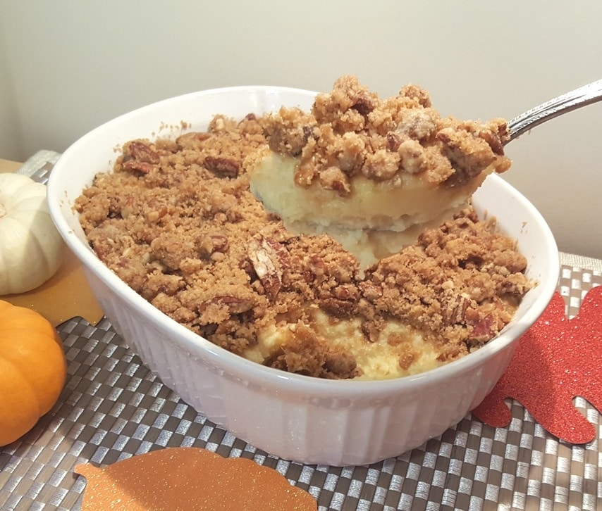 Oven Baked Ruth's Chris Sweet Potato Casserole