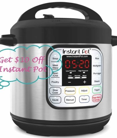 Coupon Code For Instant Pot DUO Pressure Cooker
