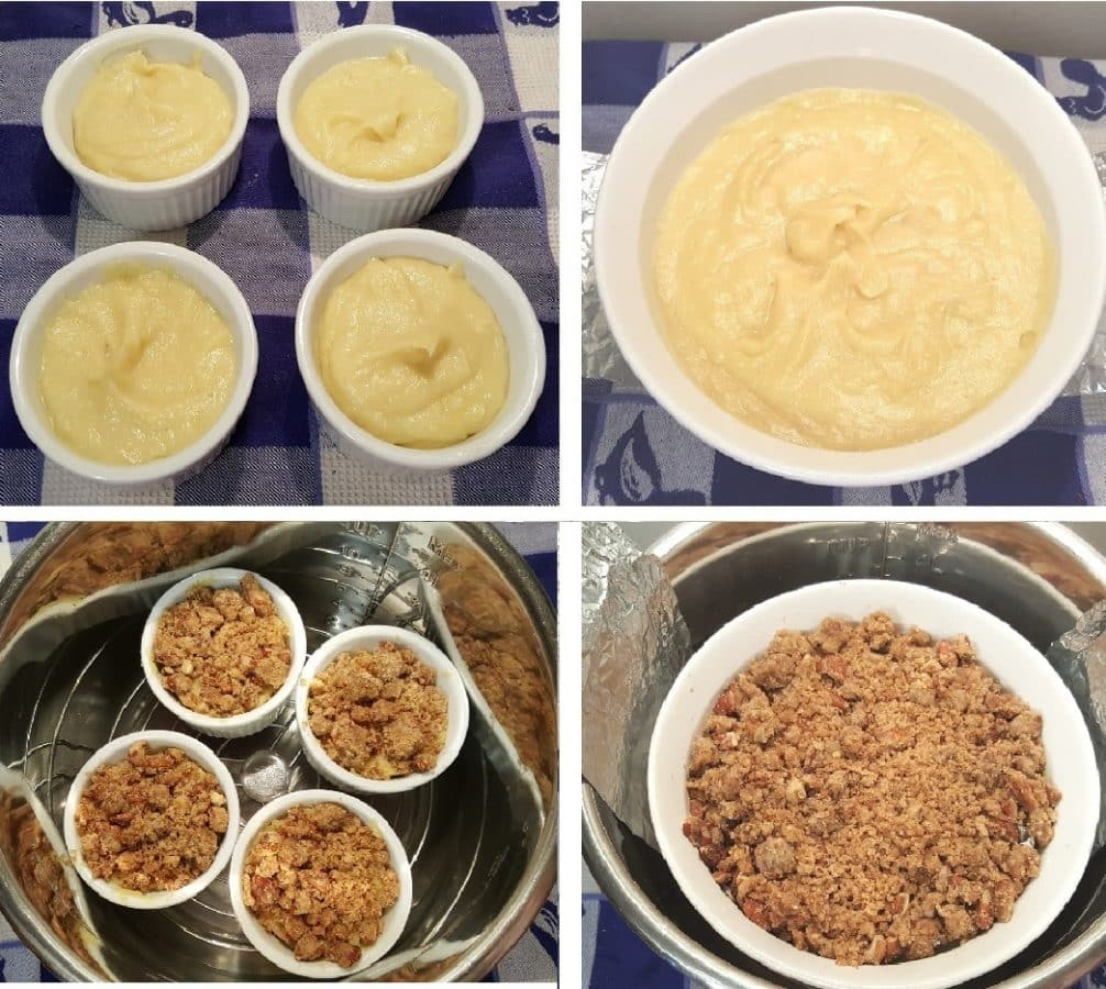 Place Ruth's Chris Sweet Potato Casserole into Pressure Cooker Cooking Pot