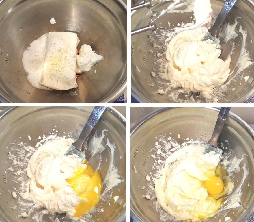 Prepare the Cheesecake Filling