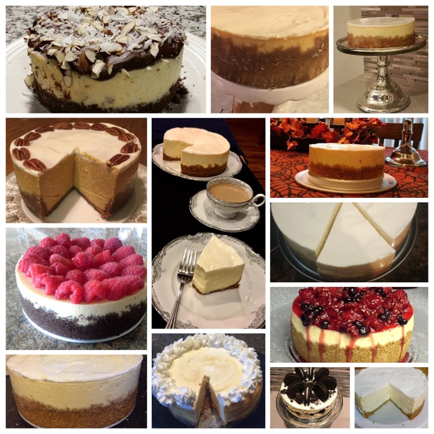 Pictures courtesy of my readers! Instant Pot Cheesecake
