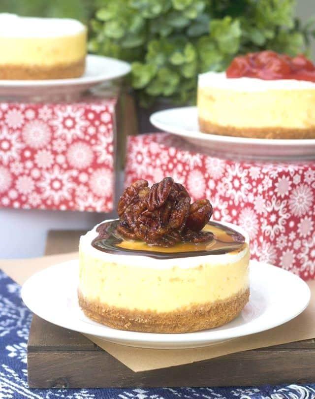 Mini Cheesecakes by Lubna Dadabhoy