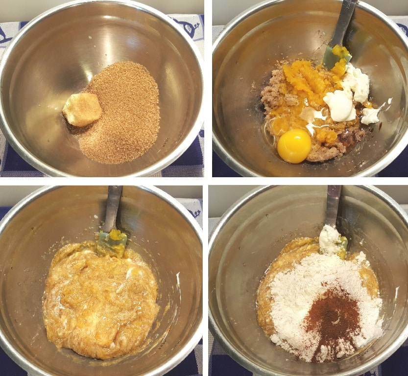 Hand Mix the Muffin Batter