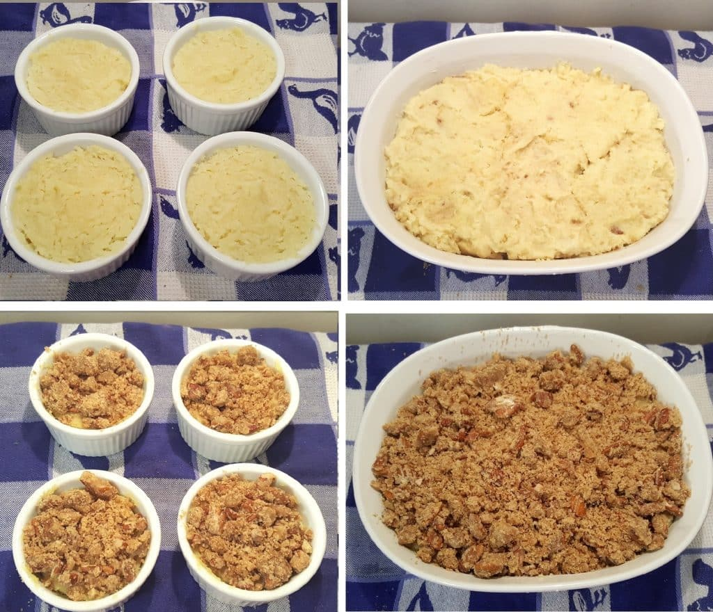 Place Casserole Dish with Filling into Oven