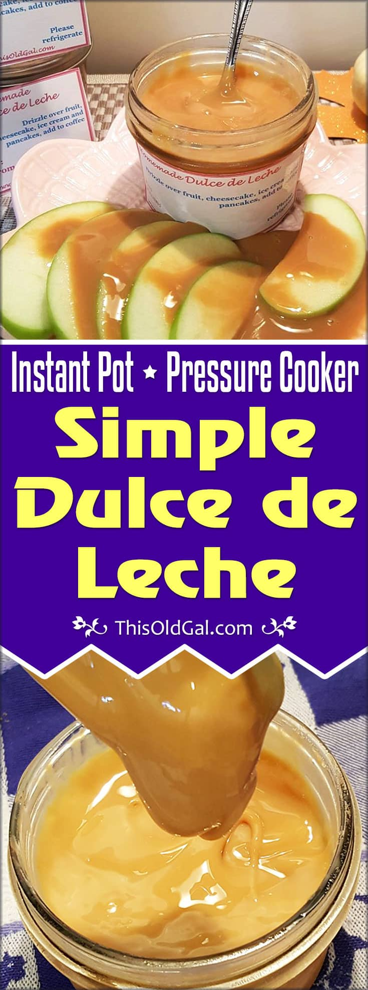 Simple Dulce de Leche Recipe (Pressure & Slow Cooker Method)