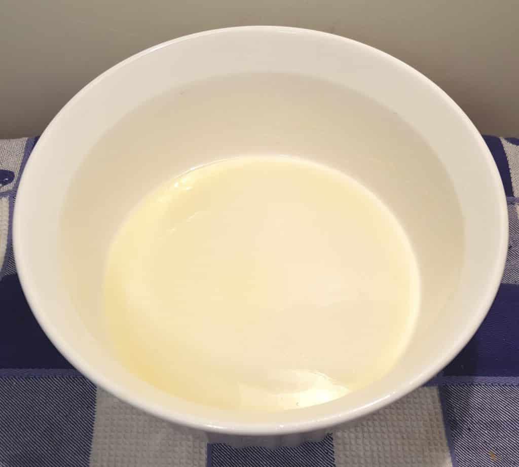 Melt Butter in the Casserole Dish