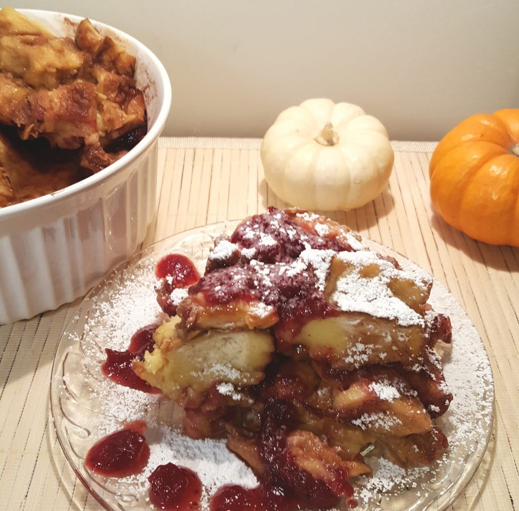 Pressure Cooker Orange Cranberry French Toast