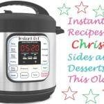 Instant Pot Recipes for Christmas