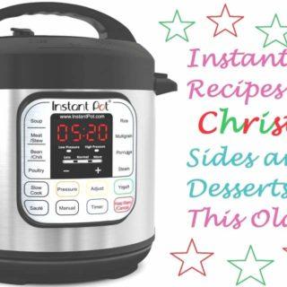 Pressure Cooker & Instant Pot Recipes for Christmas Dinner