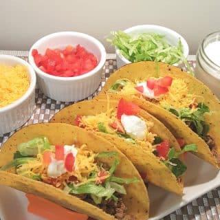 Pressure Cooker Drive Thru Tacos
