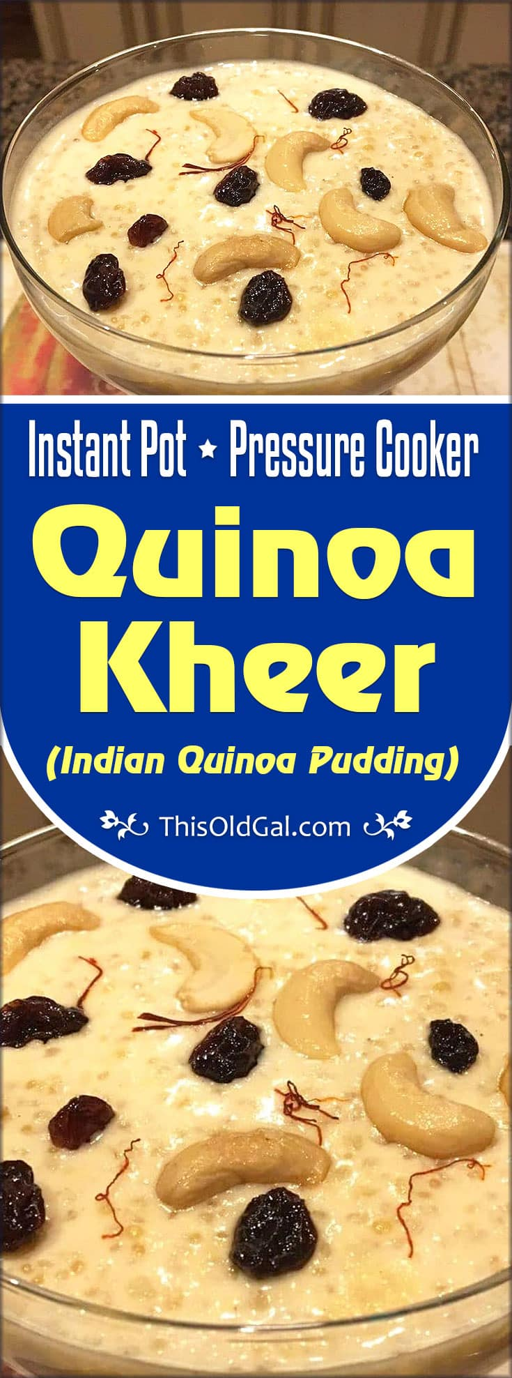 Pressure cooker quinoa kheer indian quinoa pudding pin this pressure cooker quinoa kheer indian quinoa pudding forumfinder